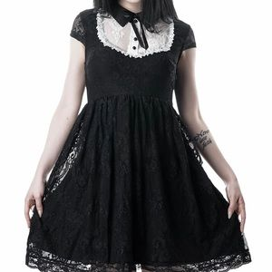 Killstar Agnes Lace Babydoll Dress, New with Tags